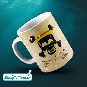 Tazza 325 ml – Wanted – the captain