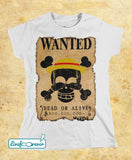 T-shirt donna – Wanted – the captain