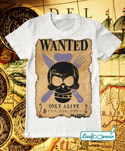 T-shirt uomo – Wanted – the chef
