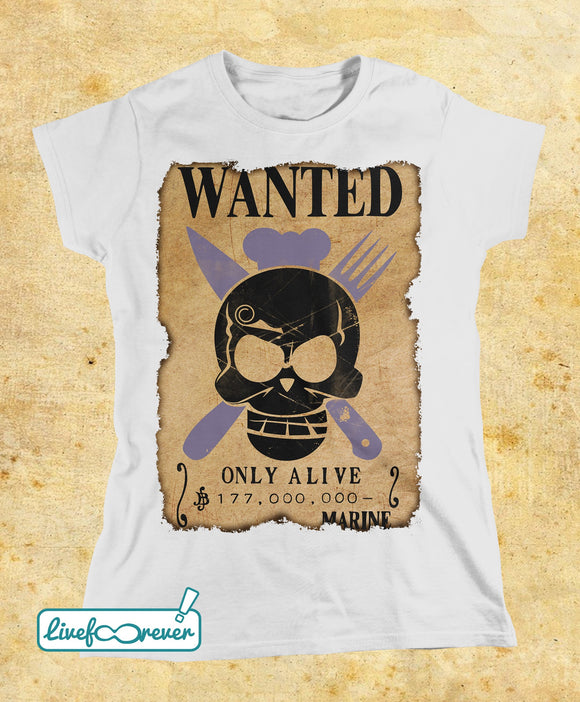 T-shirt donna – Wanted – the chef