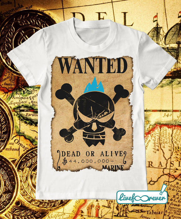 T-shirt uomo – Wanted – the shipwright