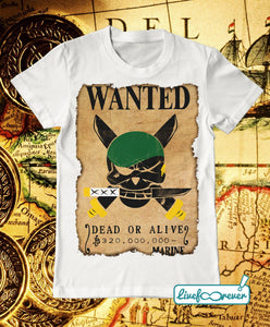 T-shirt uomo – Wanted – the swordsman