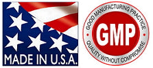 MADE IN U.S.A. , Good manufacturing practice, quality without compromise, GMP