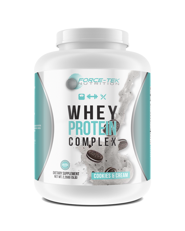5lb Whey Protein Complex - Cookies & Cream
