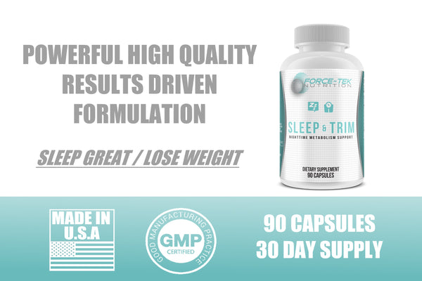 Sleep & Trim - Night Time Metabolism Support