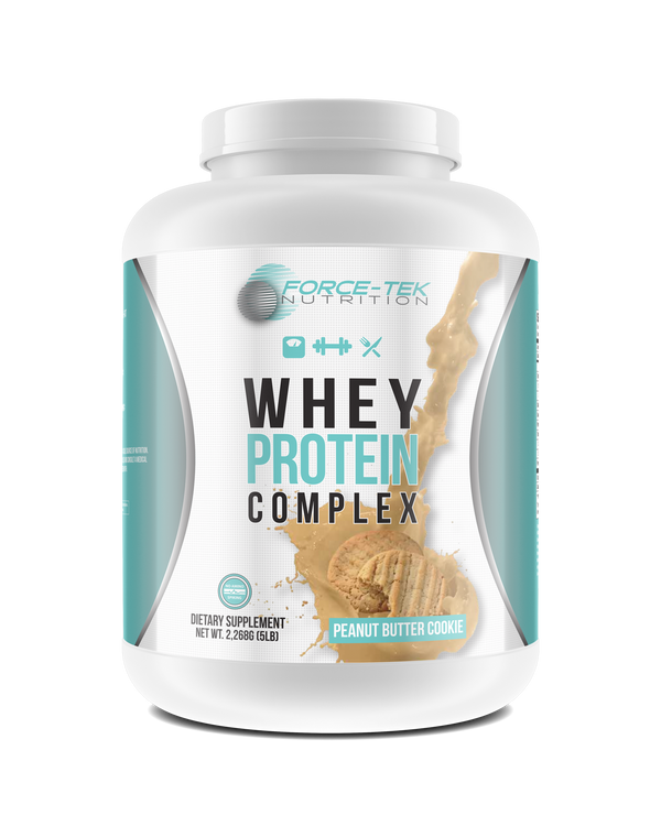 5lb Whey Protein Complex - Peanut Butter Cookie