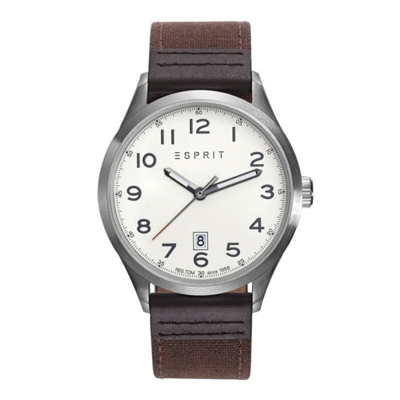 Esprit Es109191001 Vein Brown Mens Watch