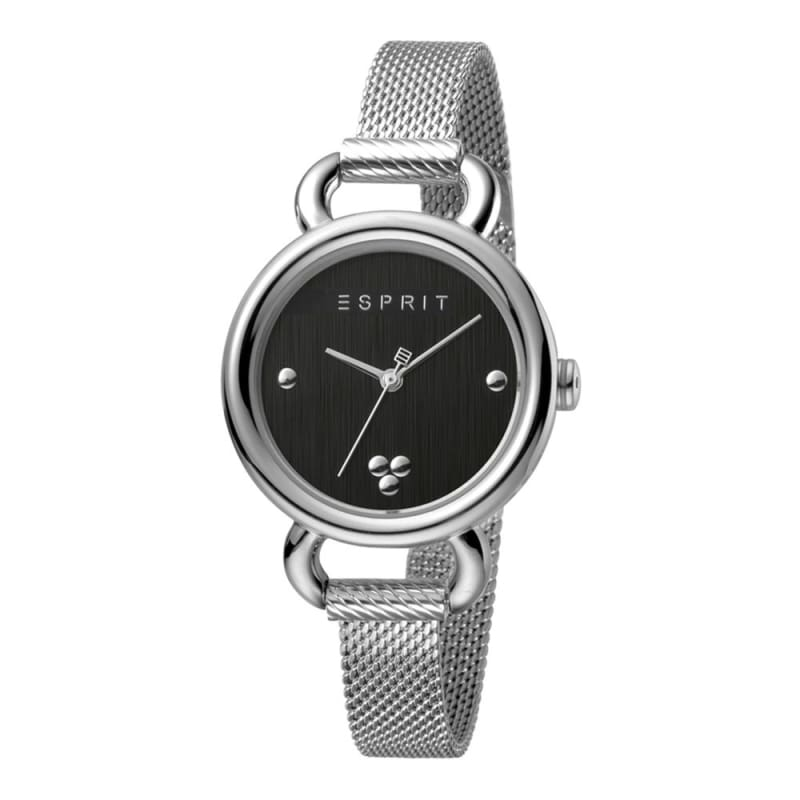 Esprit Es1L023M0045 Play Black Silver Mesh Ladies Watch