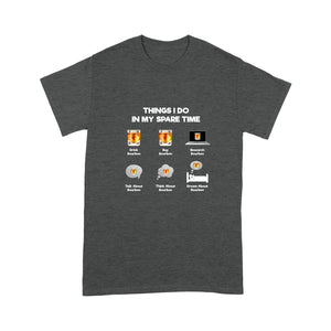 Spare Time With Bourbon - Standard T-shirt