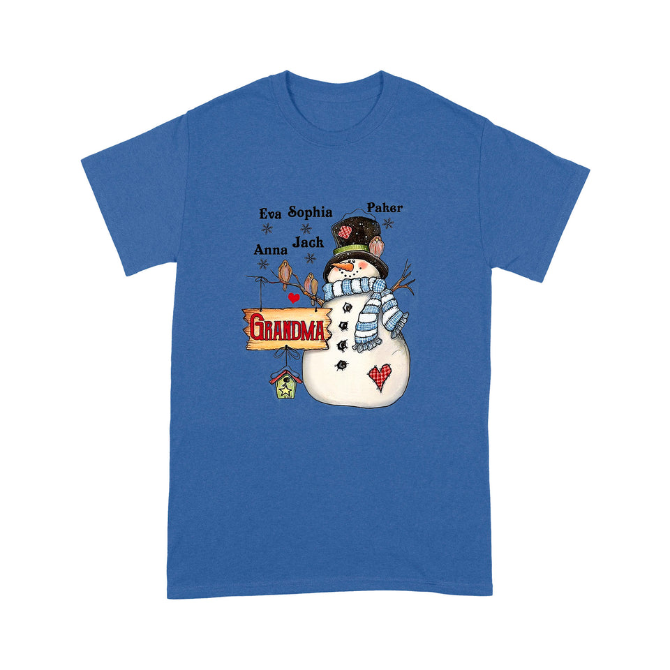Grandma Customized Standard T-shirt