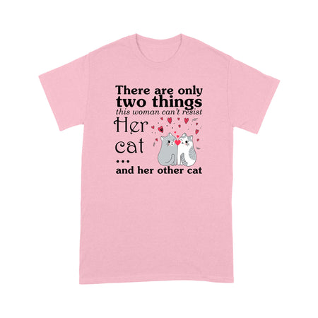Her Cat & Her Other Cat - Standard T-shirt
