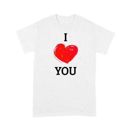 I Heart You Standard T-shirt & Tee, 2021 Trending Fashion Cute Lovely T-shirt For Mom & Girlfriend