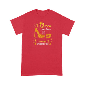 January 15th Queen - Standard T-shirt