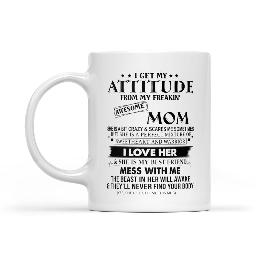 My Awesome Mom - White Mug