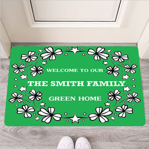Personalized (Customized) St. Patrick's Day Door Mat