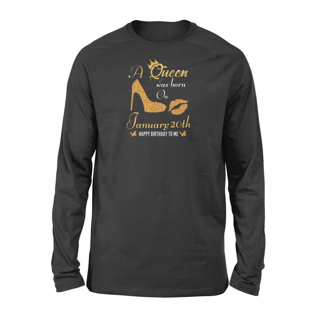 January 20th Queen - Standard Long Sleeve