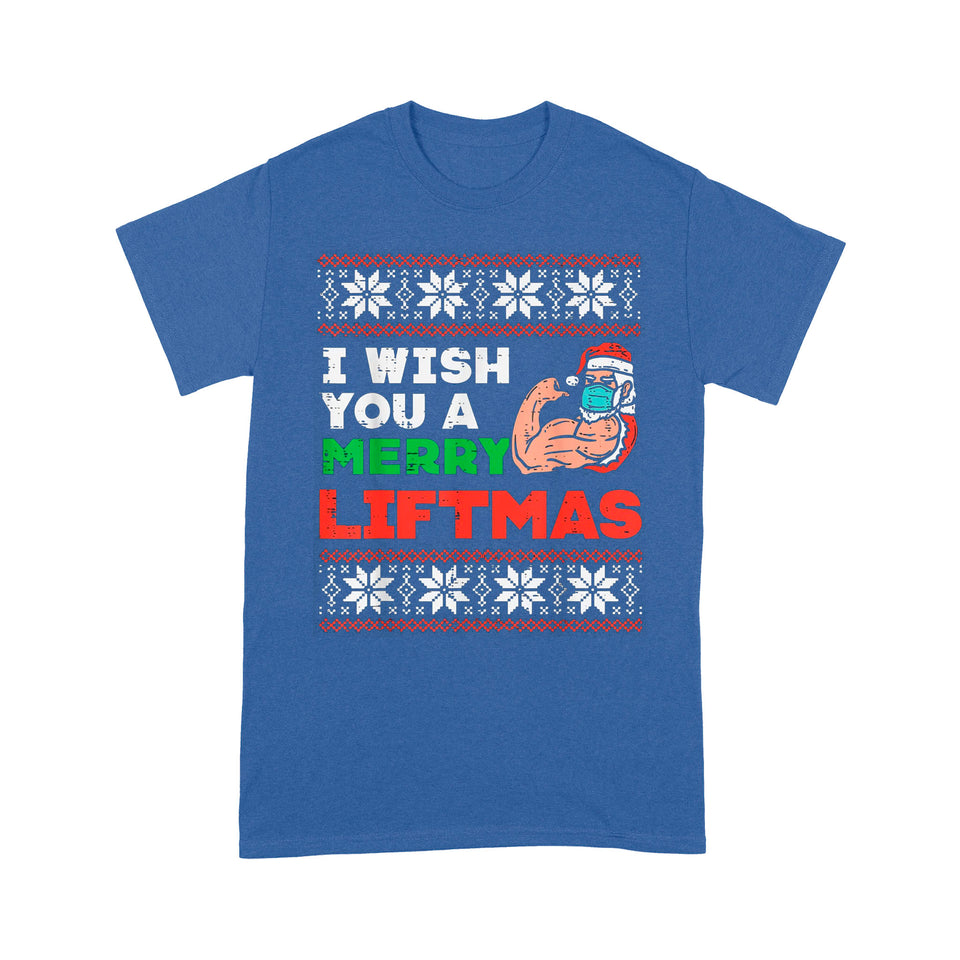 I wish you a Merry Liftmas- Standard T-shirt