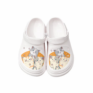 Kittens clogs shoes