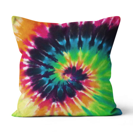 Tie dye - Canvas Pillow