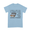 A boss like you is harder to find than toilet paper during a pandemic  - Standard T-shirt