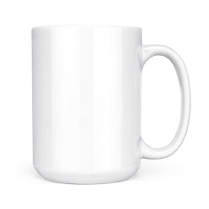 Never Underestimate An Irish Lady - White Mug
