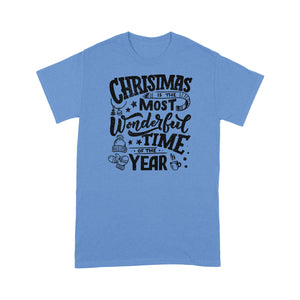 Christmas is the most wonderful time of the year- Standard T-shirt