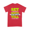 Set your goals high - Standard T-shirt