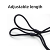 Rich Black Adjustable Anti Fog Reusable