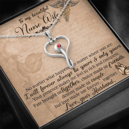 Necklace for Nurse Wife