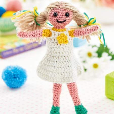 Dinky Doll Crochet Toys | Wool Crochet Products | CT021