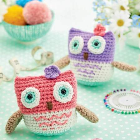 Cute Owls Crochet Toys | Wool Crochet Products | CT030