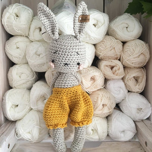 Shy Bunny Crochet Toys | Wool Crochet Products | CT037