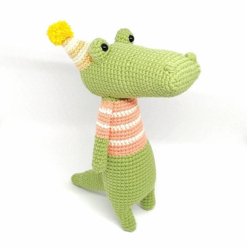 Picapau Crocodile Crochet Toys | Wool Crochet Products | CT097