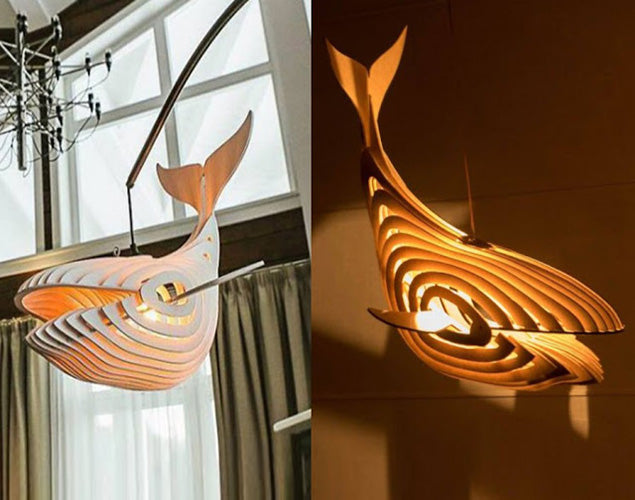 Fish Wooden Lamps