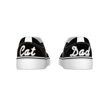 Cat Dad Men's Slip On Sneakers