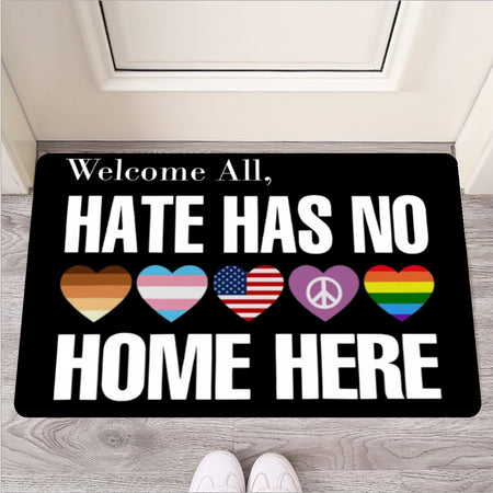 Hate Has No Home Here - Door Mat