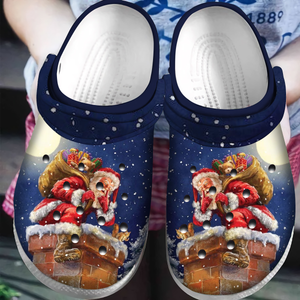 Santa Claus Is Coming Slippers