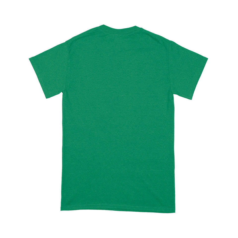 Happy St Patrick Shirt, St Patricks Day Shirt,Irish Saint Pattys Day Shirt, St Patricks Day Gift, Lucky Leopard Shamrock St Patrick's Day - Standard T-shirt