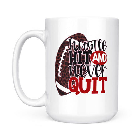 Never Give Up - White Mug