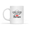 Lord Made Them Nurses - White Mug