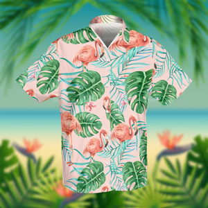 Hawaiian Flamingo Shirt