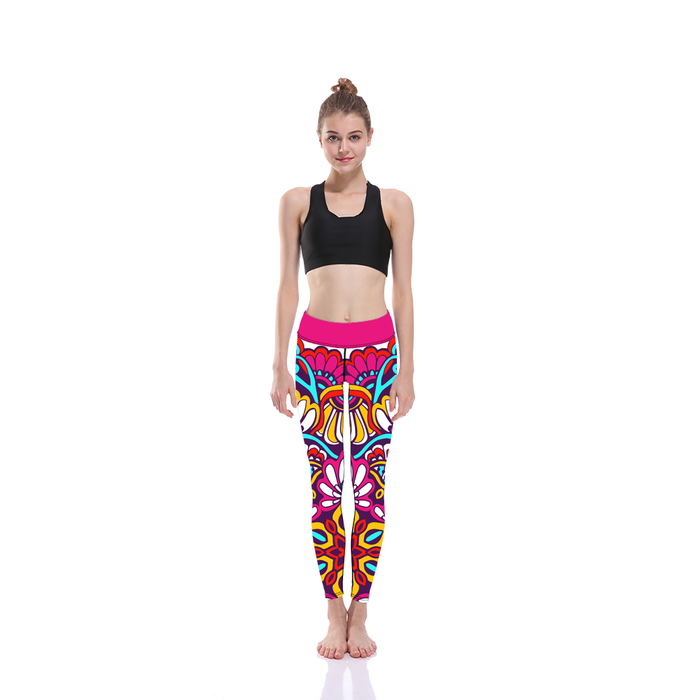Flower Mandala Legging