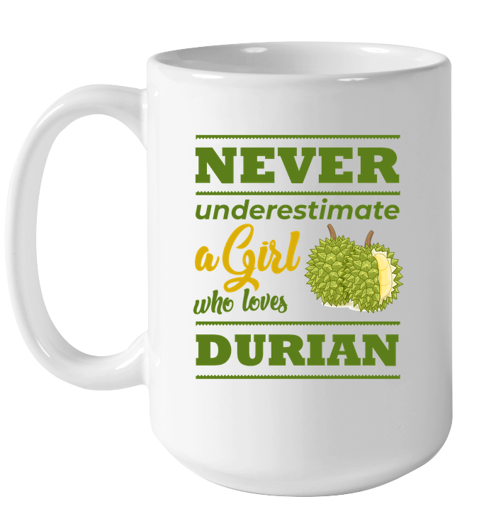 Who-loves-Durian T-shirt and Cup