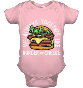 Burger & Cheese for Baby