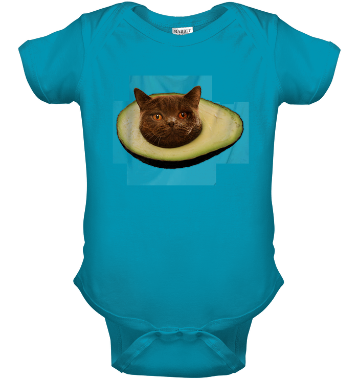 Avocado with Cat face
