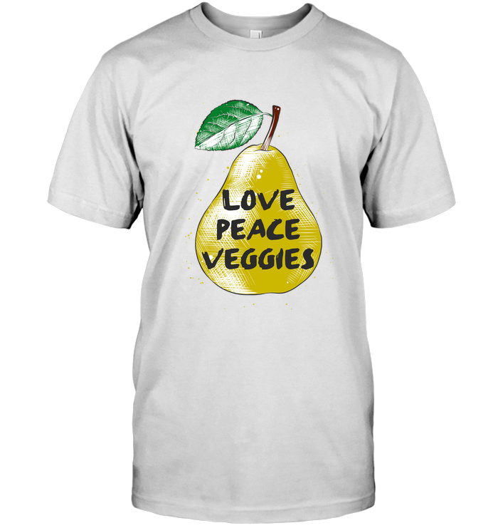 Love - Peace - Veggies