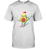 Avocado's Santa Christmas T-shirts