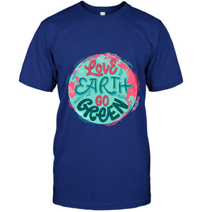 Love Earth Go Green