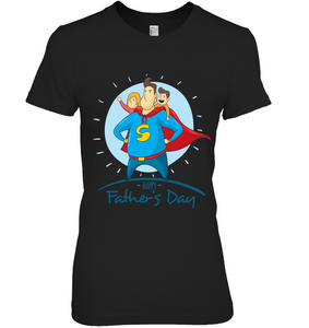 Happy Father's Day - Super Father Symbol