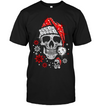 Skull Glitter T-Shirt - Real Glitter - Real Bling Bling - High Quality